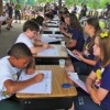 Not Your Mama's Spelling Bee: Local Schools do Academic Competition NASCAR-style
